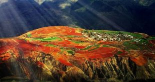 Dongchuan Red Land - God's Magic Palette in Yunnan, China