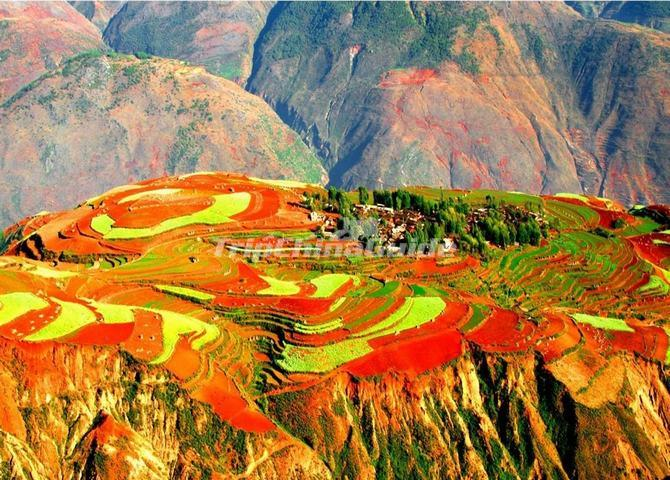 Dongchuan Red Land, Yunnan, China