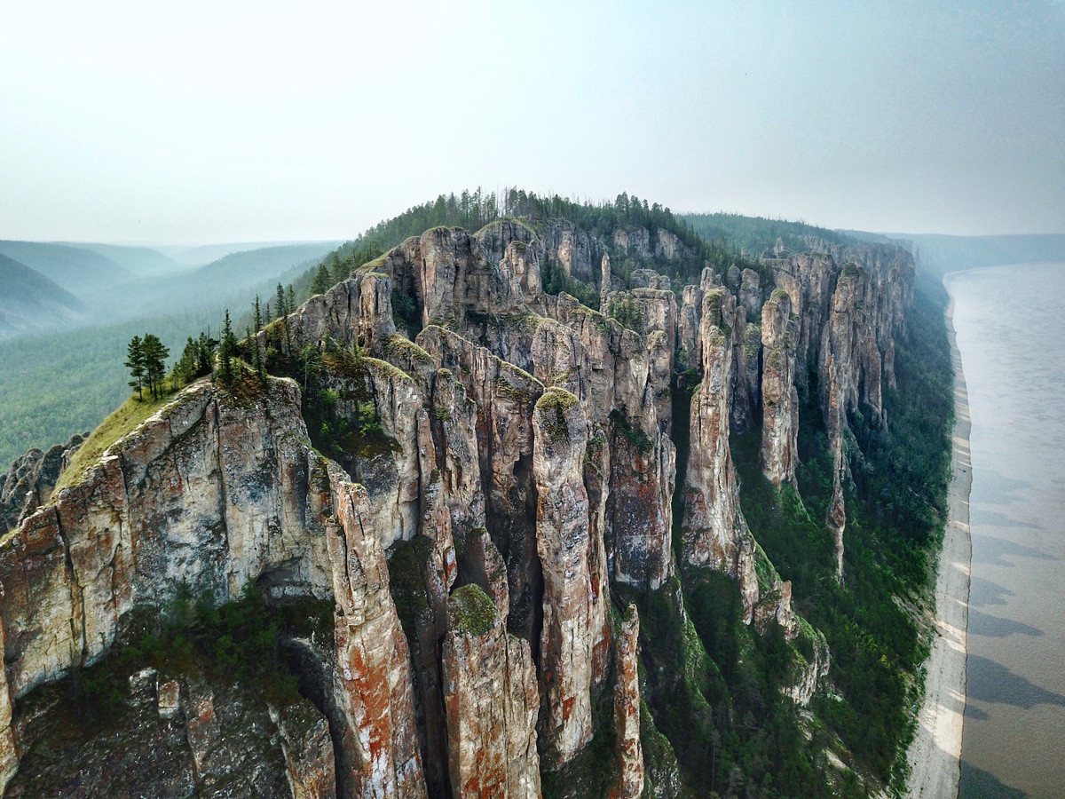 Lena Stone Pillars - Natural wonders of Russia
