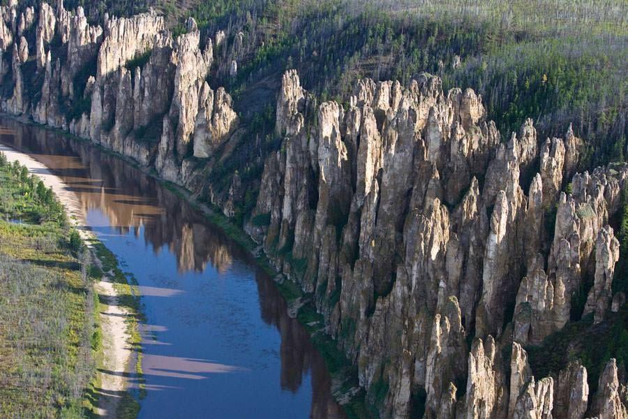 Lena Stone Pillars, Russia