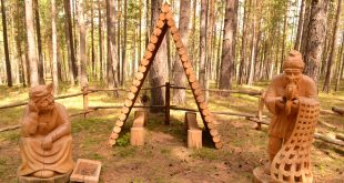 Lukomorye Wooden Sculpture Park