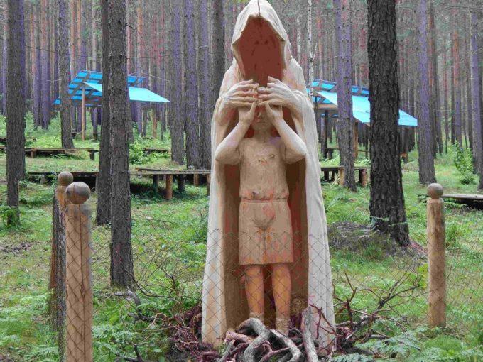 Lukomorye Wooden Sculpture Park in Russia