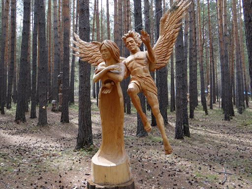 Lukomorye Wooden Sculpture Park of Russia