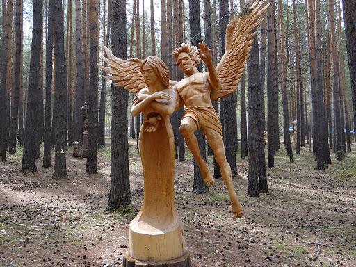 Lukomorye Wooden Sculpture Park of Russia