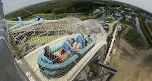 Verruckt- The water slide which was taller than Niagara Falls
