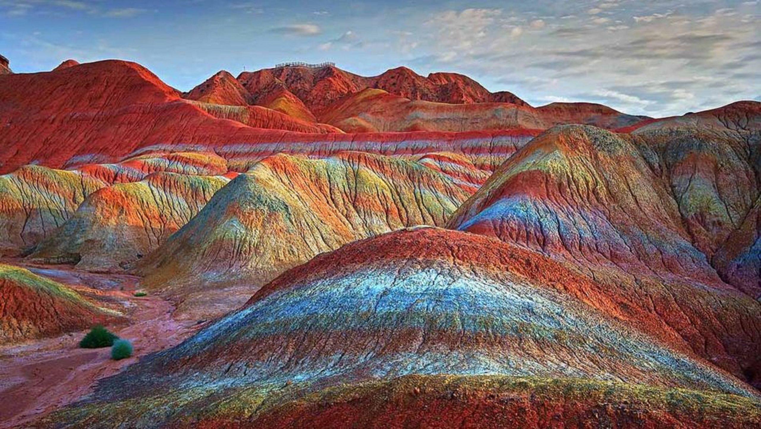 Zhangye Danxia Landform - The Rainbow Mountains of China