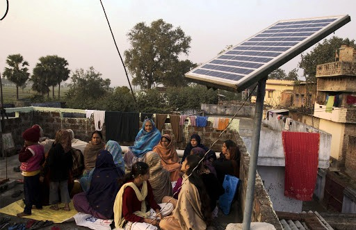 The project of solar power installation