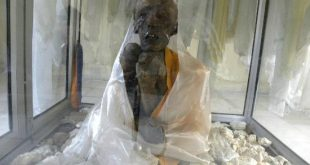 A 500 Year Old Tibetan Mummy of Monk Sangha Tenzing at Gue Village, Spiti