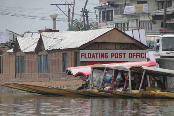 Floating post office for the locals