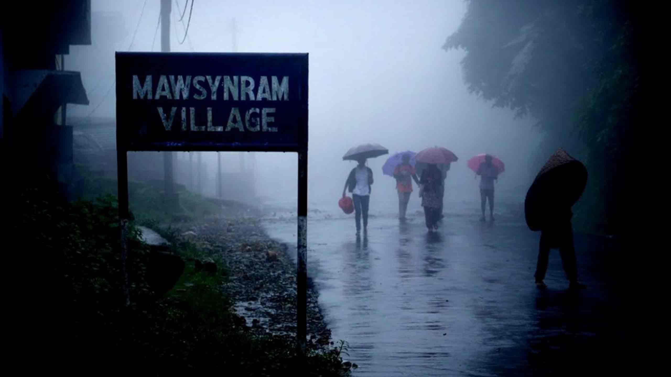 Mawsynram, Meghalaya – Wettest Inhabited Place on Earth